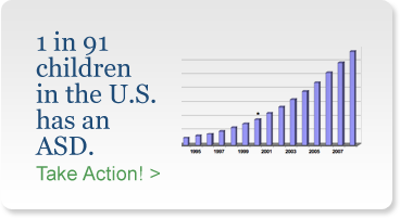 1 in 9 children in the US has an ASD